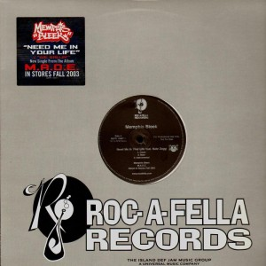 Memphis Bleek - Need me in your life / we ballin'  - promo 12''