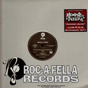 Memphis Bleek - Round Here - promo 12''
