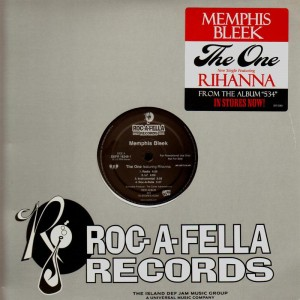 Memphis Bleek - The one / First, last and only / Smoke the pain away - promo 12''