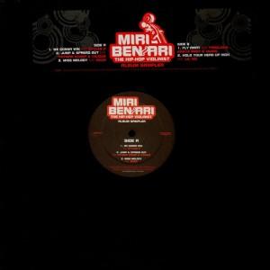 Miri Ben-Ari (the hip-hop violonist) - Album sampler - promo Vinyl EP