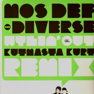 Mos Def and Diverse - Wylin'out (remix) - 12''