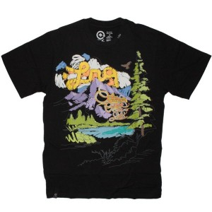LRG T-shirt - Color Outside The Lines Tee - Black