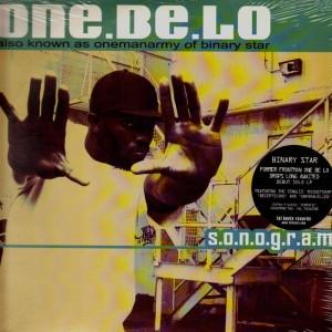 One.Be.Lo aka Onemanarmy - S.o.n.o.g.r.a.m. - 2LP