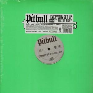 Pitbull - Everybody get up -12''
