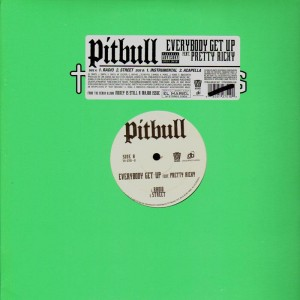 Pitbull - Everybody get up - promo 12''