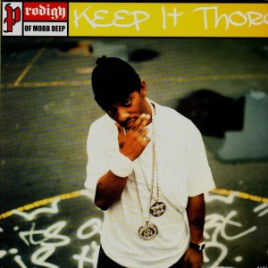 Prodigy - Keep it thoro / Keep it thoro remix - 12''