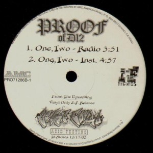 Proof - One, two / serioous - 12''
