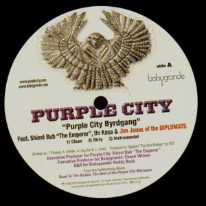 Purple City - Purple city byrdgang / It ain't easy - 12''