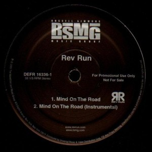 Rev Run - Mind on the road - promo 12''