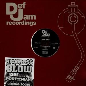 Rick Ross - Blow - promo 12''