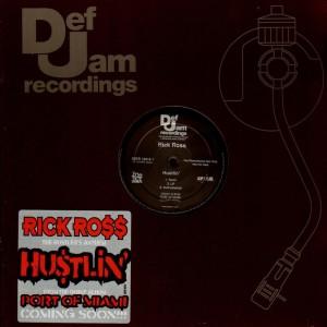 Rick Ross - Hustlin' - promo 12''