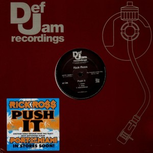 Rick Ross - Push it - promo 12''