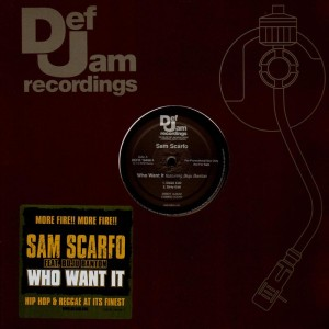 Sam Scarfo - Who want it - promo 12''