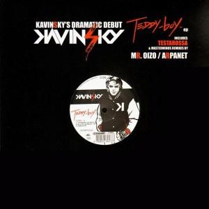 Kavinsky - Teddy Boy EP - Testarossa Autodrive - Mr.Oizo + Arpanet remixes - 12''