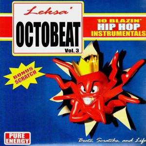 DJ Leksa - Octo Beat Volume 3 - Beats scratch and life - LP