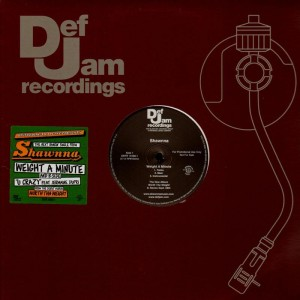 Shawnna - Weight a minute / U crazy - promo 12''
