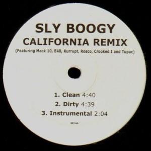 Sly Boggie - California remix / Ridiculous - 12''