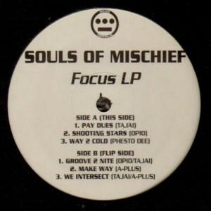 Souls Of Mischief - Focus LP - 2LP