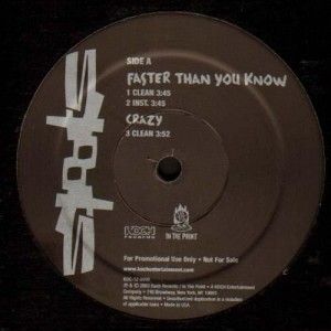 Spooks - Faster than you know / Crazy / Still gonna do it - promo 12''