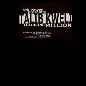 Talib Kweli - Here we go / Million - Nothin' but a party - 12''