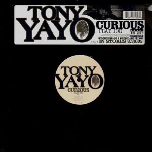 Tony Yayo - Curious / Pimpin' - 12''