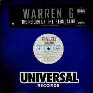 Warren G - The return of the regulator - 2LP