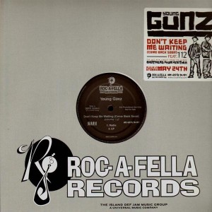 Young Gunz - Don't keep me waiting - promo 12''