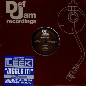Young Leek - Jiggle it ! - promo 12''