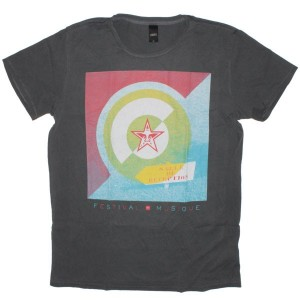 OBEY Lightweight T-Shirt - Festival De Musique - Black
