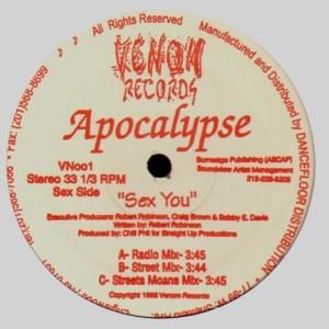 Apocalypse - Skills prevail / Sex you - 12''