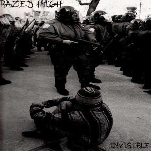 Razed High - Invisible - LP