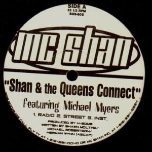 MC Shan - Shan & the Queens Connect / MC's Freeze - 12''