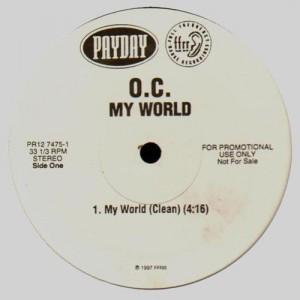 O.C. - My world - promo 12''