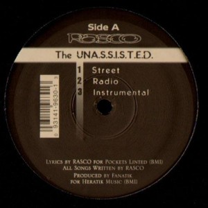 Rasco - The Unassisted / Hip hop essentials -12''