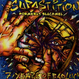 Supastitions - 7 years of bad luck EP - Vinyl EP