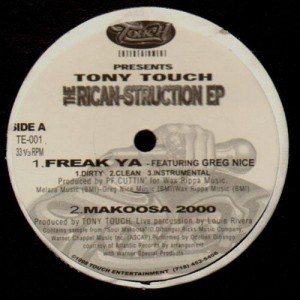 Tony Touch - The Rican-Struction EP - Vinyl EP