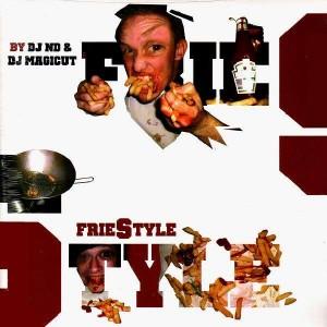 DJ ND & DJ Magicut - FrieStyle vol.2 - LP