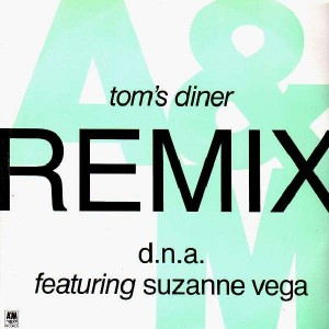 DNA - Tom's Diner Remix (feat. Suzanne Vega) - 12''