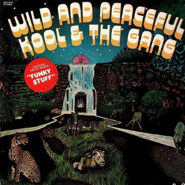 Kool And The Gang Wild And Peaceful Lp Temple Of Deejays