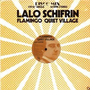 Lalo Schifrin - Flamingo quiet village / Jaws - 12''