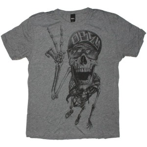 OBEY Tri-Blend T-Shirt - Life in the fast lane - Heat