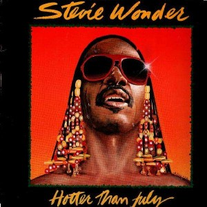 Stevie Wonder - Hotter than july - LP