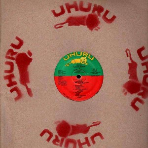 Uhuru - Various Artists - LP