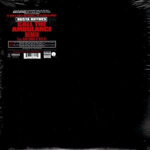 Busta Rhymes - Call the ambulance remix - 12''