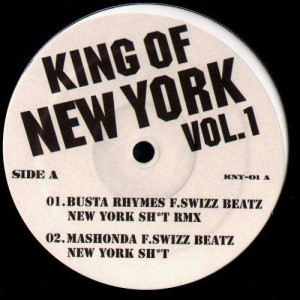King of New York Volume 1 - Various Artists - 12''