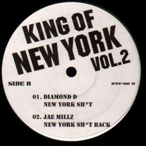 King of New York Volume 2 - Various Artists - 12''