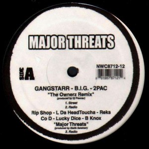Major Threats - Various Artists - Vinyl EP