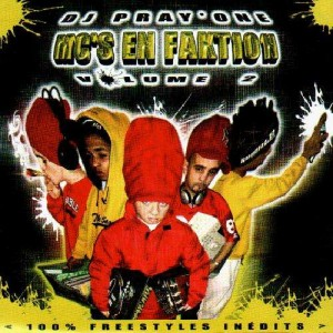 DJ Pray'One - MC's en faktion volume 2 - 2CD