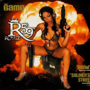 Royce Da 5'9'' - Boom / Soldier's Story - 12''