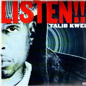 Talib Kweli - Listen / More or less - 12''